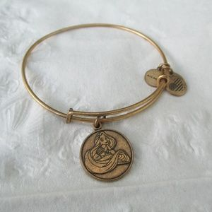 Alex and Ani Rapunzel Bracelet Disney gold